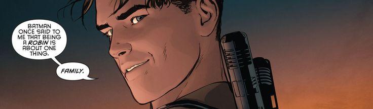 Grayson 15. Dick Grayson. Bruce Wayne. Batman. Robin. Batfamily.