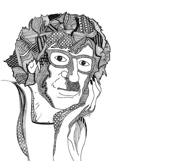 Charly García | Dibujo on Behance