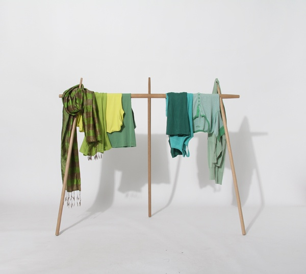 Hakama clothes rack