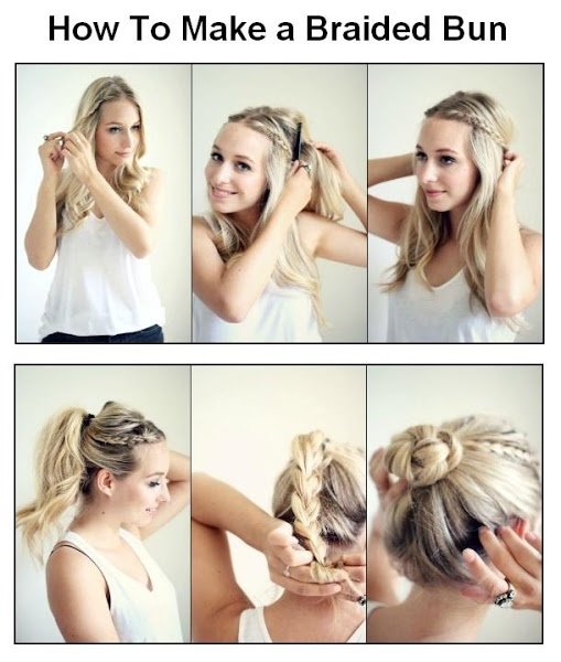 seems a bit complicated, but I'll give it a try! - How To Make a Braided Bun | hairstyles tutorial