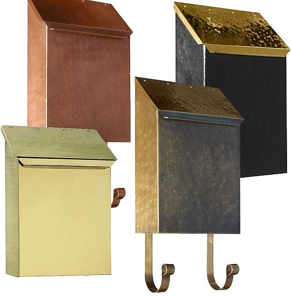 127 Best Wall Mounted Mailboxes Images On Pinterest Wall