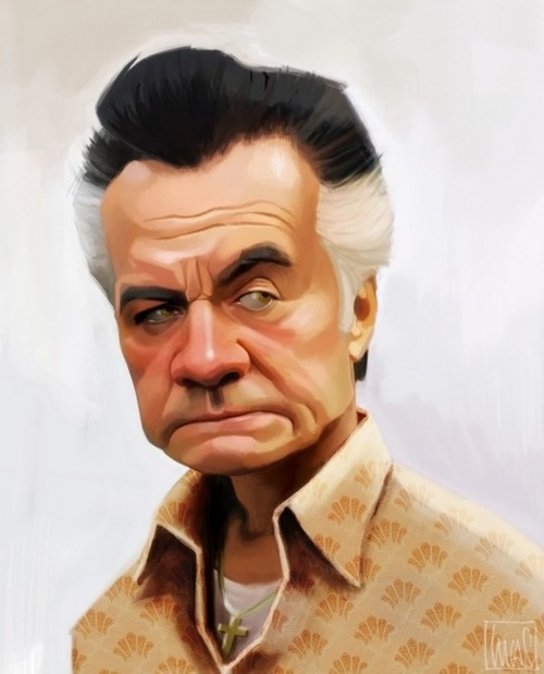 Paulie Gualtieri from The Sopranos, by Lucas Soriano Beltrán