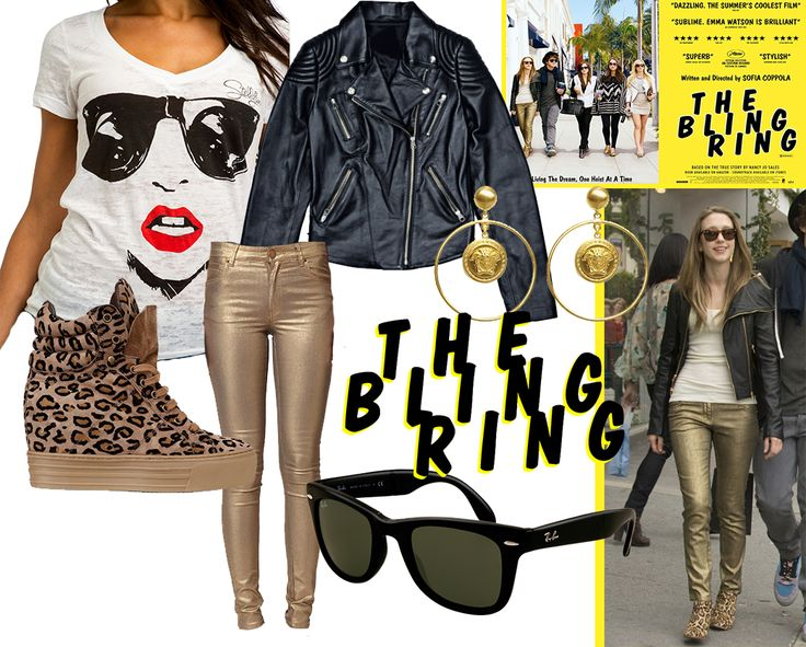 "Taissa Farmiga style in to the movie ""The Bling Ring"" http://www.stellajuno.com/index.php/en/blog-item/item/129-get-the-lookthe-bling-ring-taissa-farmiga"