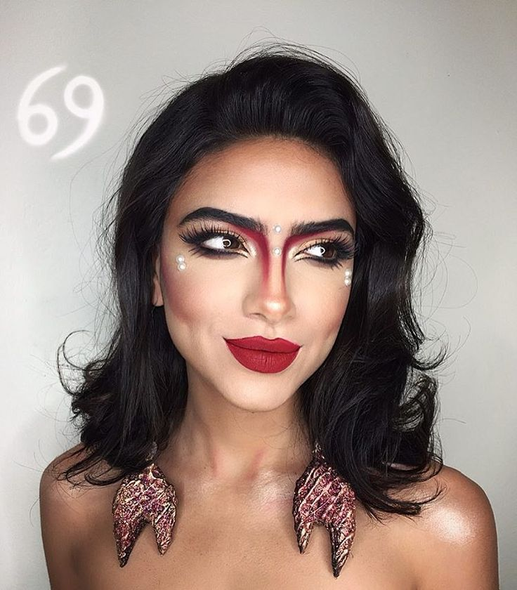 13 best zodiac makeup images on Pinterest | Make up, Halloween ...