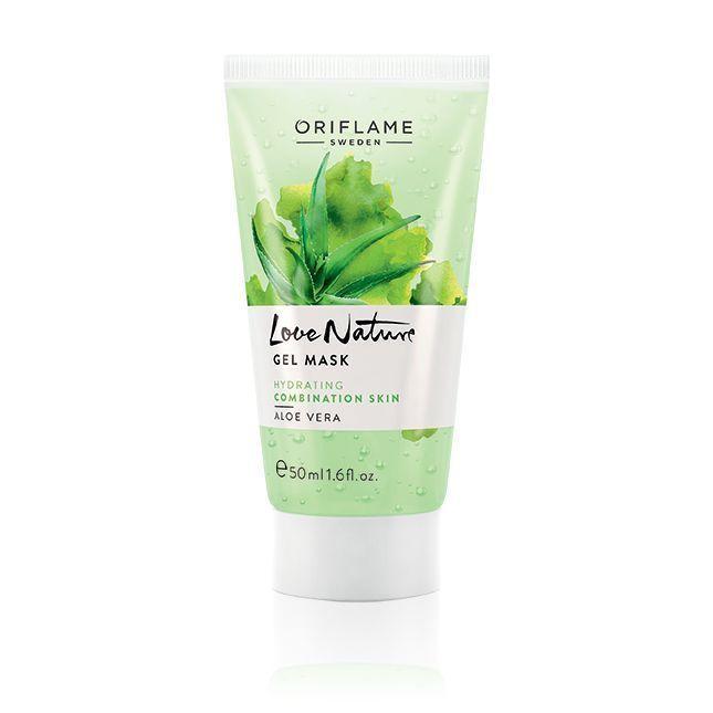 Oriflame Love Nature Gel Mask Aloe Vera 50ml