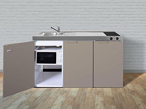 stengel Mini cuisine Pantry Cuisine Single Beige 150cm Cuisine Métal Bac gauche vitrocéramique: Se compose de: & # x2022; 4*…