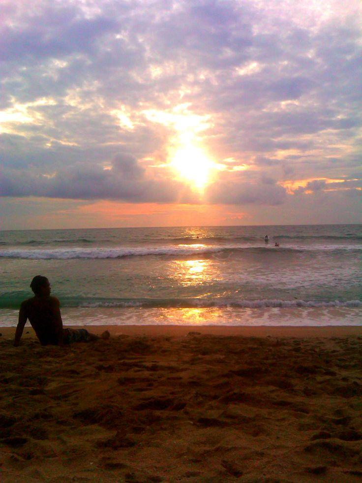 enjoy the sunset.