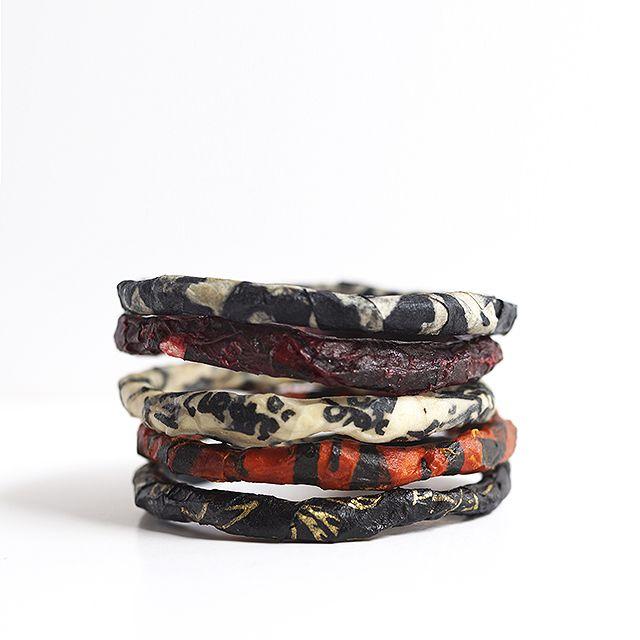 Journey into Creativity: Paper bracelets