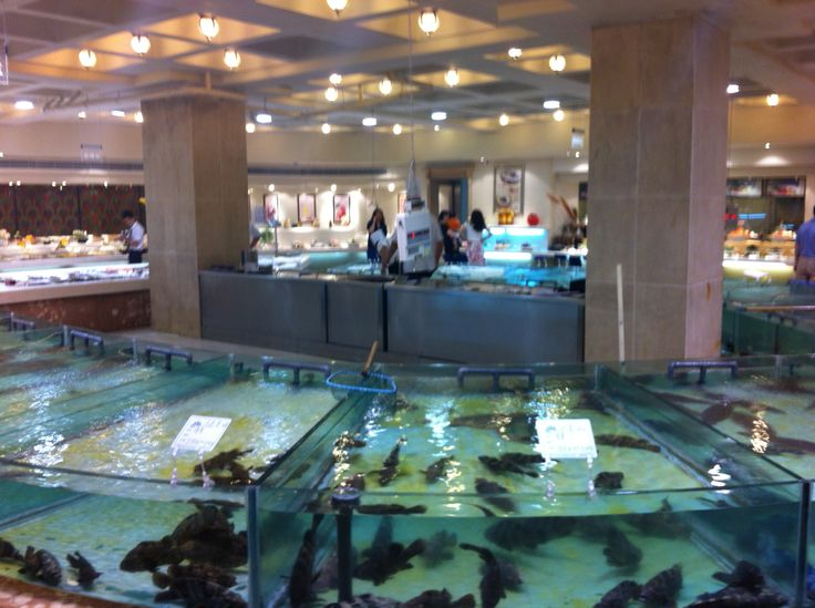 Sea food restaurant, Qingdao 2013