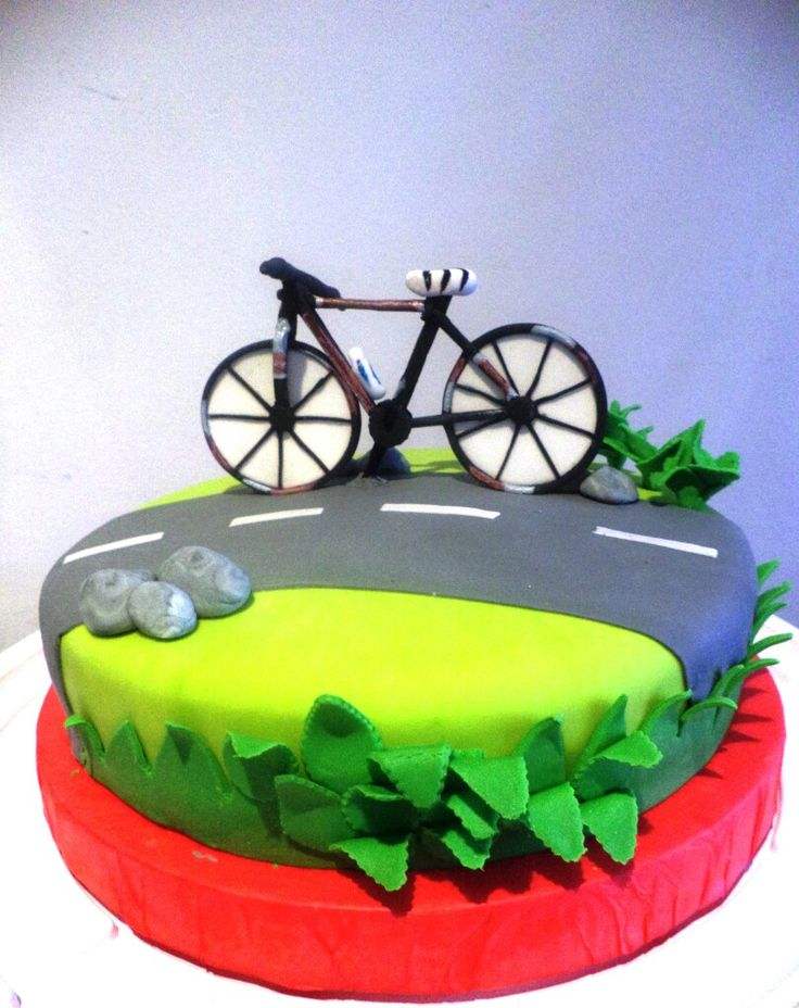Pastel Bicicleta Queques En 2019 Birthday Cakes For