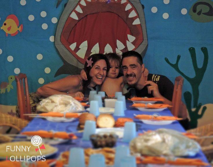 Celebraciones Caseras: Fiesta de buzos y sirenas