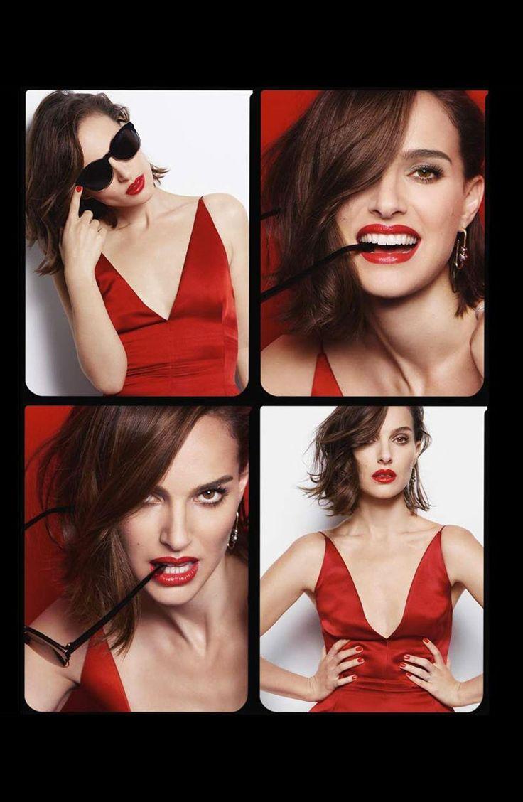 Natalie Portman stars in Dior Rouge lipstick campaign