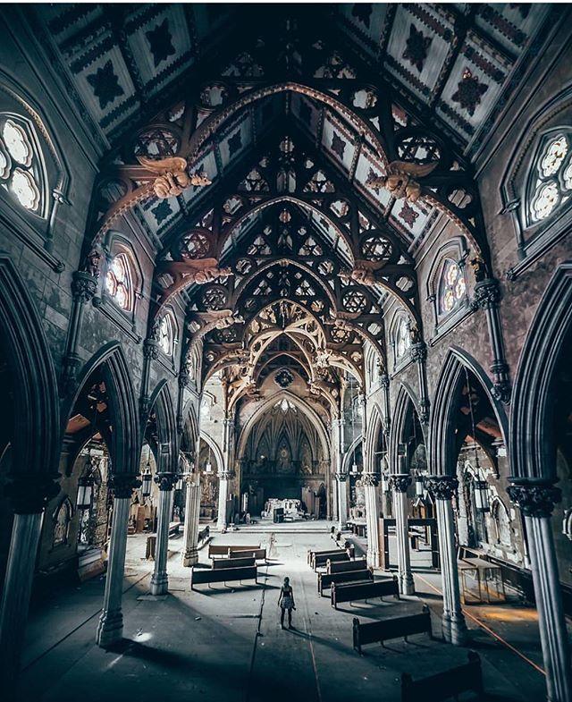 Abandoned Church In Brooklyn, New York. @_xlr8r_ (location