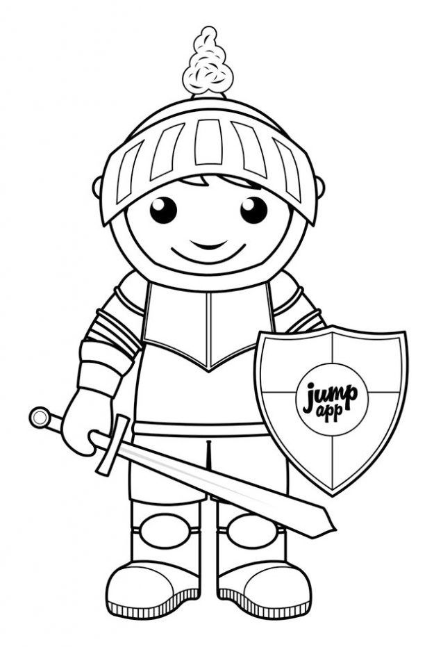 Knight Coloring Book Coloring Pages Coloring Pages For Kids