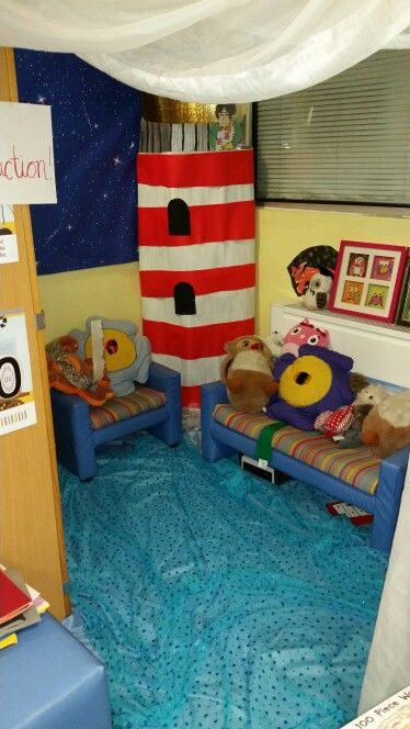 'Lighthouse Keepers Lunch' themed bookcorner