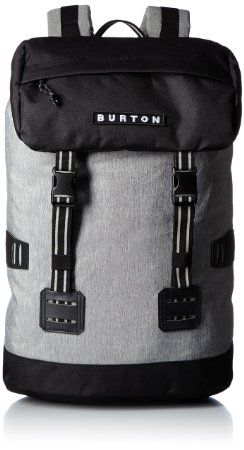 Burton Rucksack Tinder Pack, Grey Heather, 32 x 16 x 52 cm, 25 Liter, 16337101079