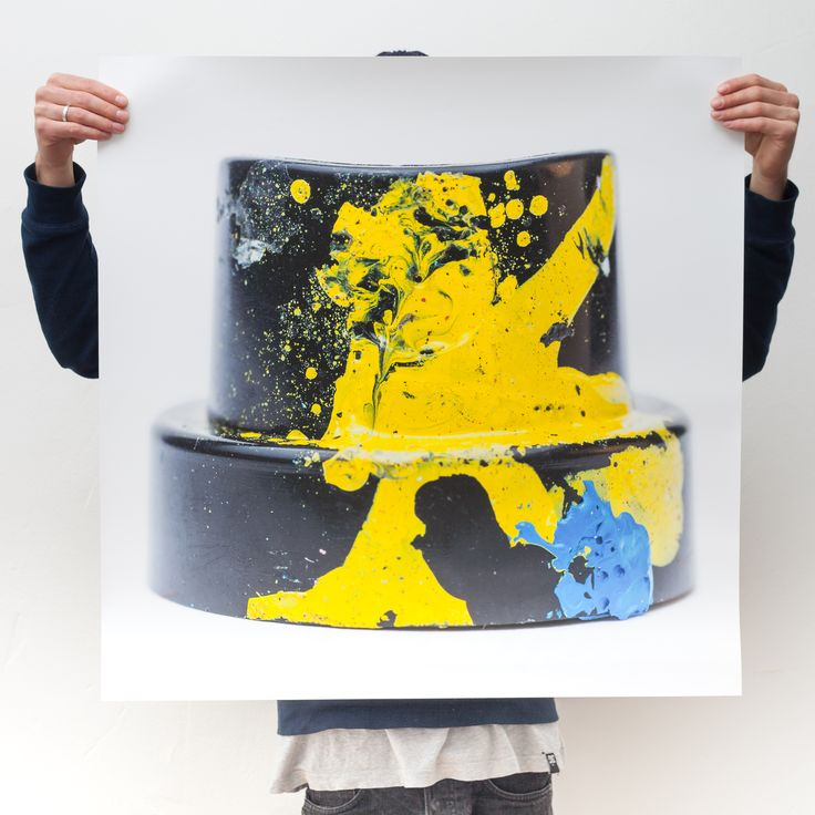 CAPS5 // Limited Edition // 800x800mm Photo Print 5/5 available on whatsart.de free shipping  #graffiti #cap #covered #with #spray #paint #sharp #colors #limited #edition #photo #print #medium #format #phaseone #awesome #huge #scale #macro