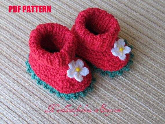 Instant Download Number 37 KNITTING PATTERN by handknitsbyElena, $2.50