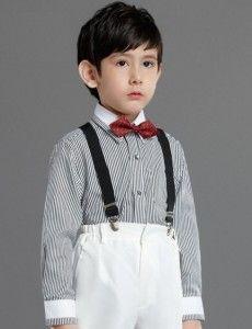 boy shirt long sleeve black stips