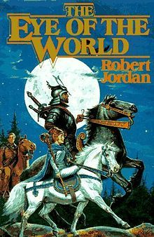 "This is the first book in my favorite series: ""The Wheel of Time"" by Robert Jordan"