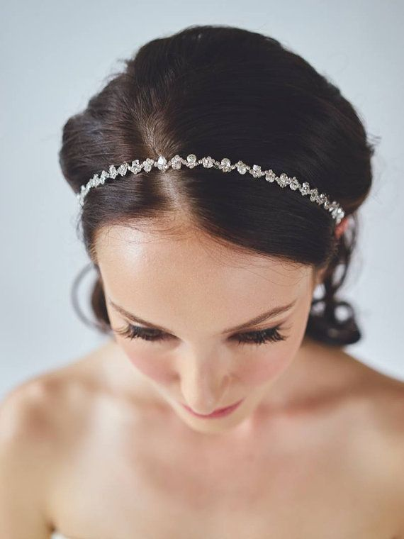 Best 25 Wedding Hair Bands Ideas On Pinterest Bridal