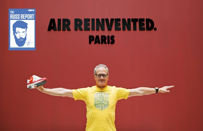 Why Tinker Hatfield's Retirement Will Be as Significant as Michael Jordan's