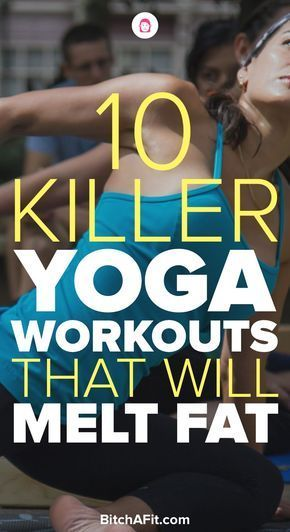 Yoga is a great way to lose weight and burn fat. These 10 yoga workouts are great in helping you lose weight quickly.