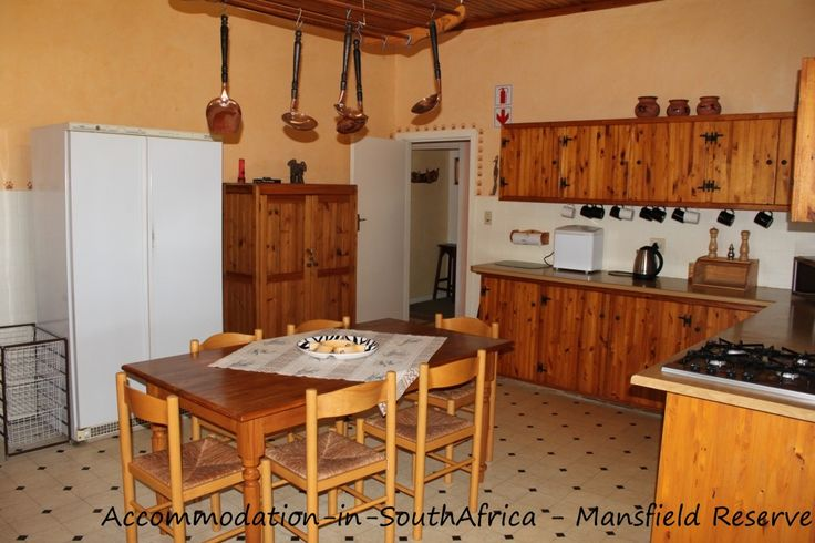 Port Alfred Accommodation. Kitchen Mansfield Reserve Port Alfred.