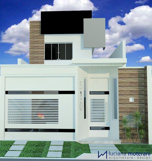 Construindo Minha Casa Clean: Projeto da Minha Fachada com Muros e Portões!!! E Lindas Inspirações!