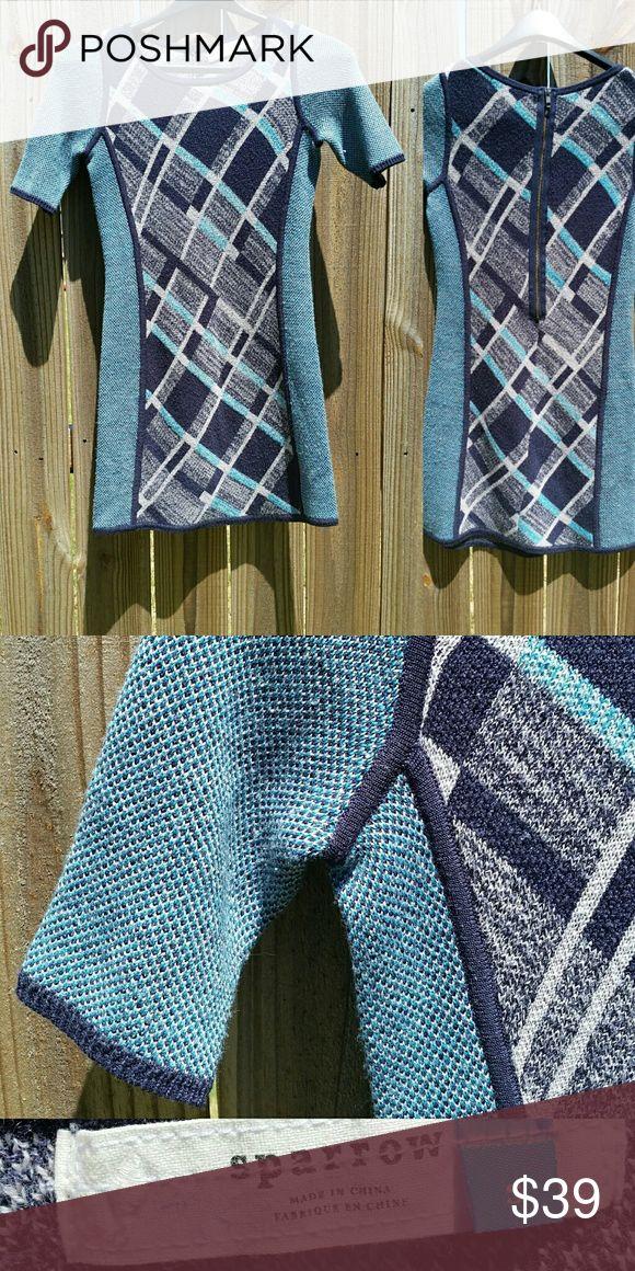 🎁SALE!🎁 ANTHROPOLOGIE Sparrow Knit Dress ANTHROPOLOGIE Sparrow Knit Dress With a Long Midback Zipper Anthropologie Dresses Mini