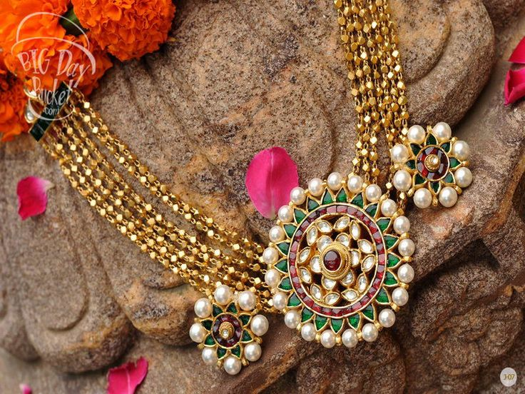Select from a wide range of fashion and ethnic jewellery designs. Also check out the pachi pani and jadtar jewellery sets based on silver and laced with 1gm gold work