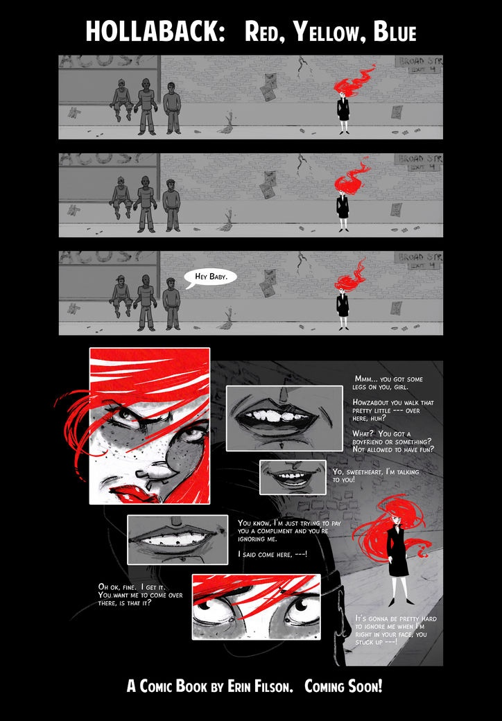 How 3 Girls Turned Their Catcalling Horror Stories Into a Kickass Comic Book Aimed at Ending Street Harassment