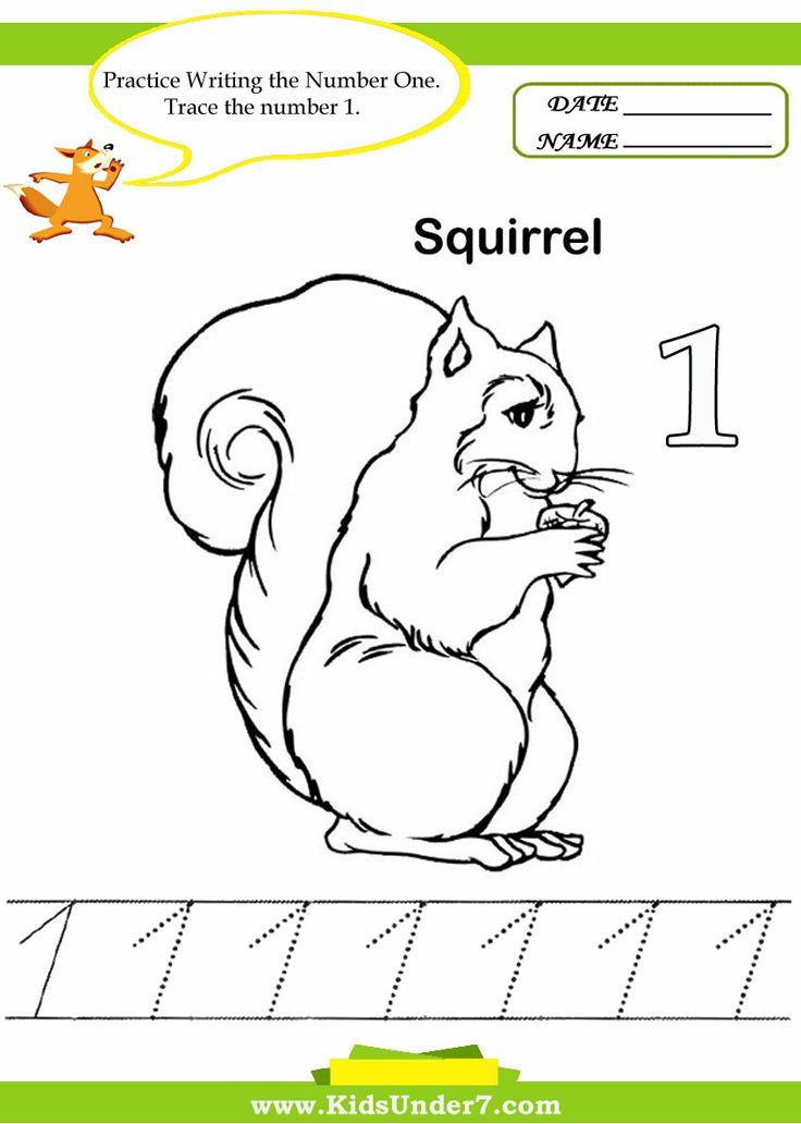 Great Free Printable Worksheets Kindergarten Number 1 10 Photo ...