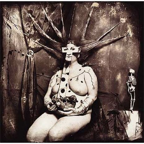 Joel-Peter Witkin, Portrait of Nan, New Mexico, 1984