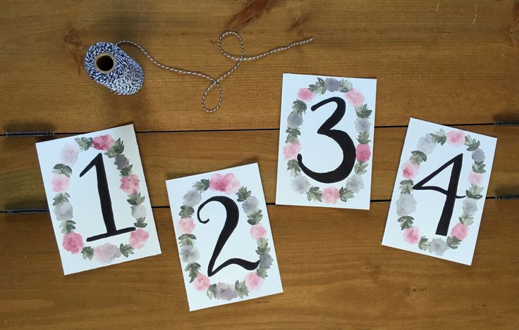 A personal favorite from my Etsy shop https://www.etsy.com/ca/listing/386116730/table-numbers-wedding-decor-custom