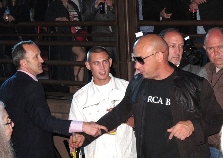 Vin Diesel, Fast and Furious 6 Premiere Party