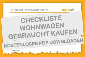 Checkliste Wohnwagen gebraucht kaufen   markt.de #wohnwagen #kaufen #gebraucht #checkliste #kostenlos