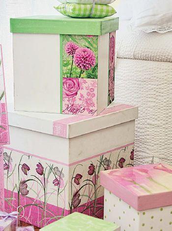 Cajas de secretos Compra el patron con las instrucciones en www.eviadigital.com y regalale este lindo proyecto a la personita que mas queres♥