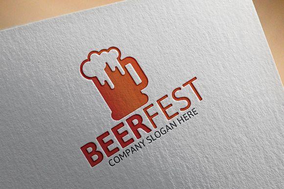 Beer Fest Logo by Josuf Media on Creative Market