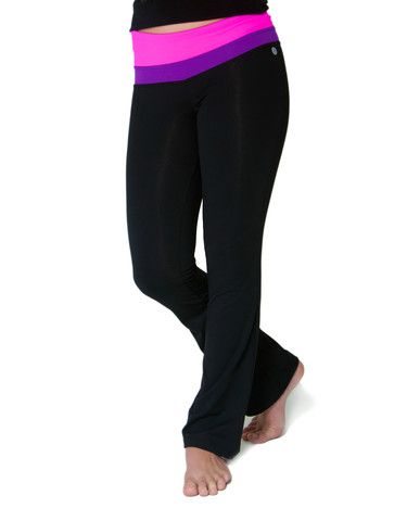Girls Knit Yoga Pant #JillYoga #yoga #dance #sport