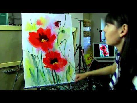 Coole Malerei für Anfänger und nicht nur. Sehr einfache Malerei Anleitun...