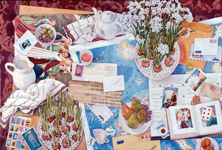 Susan Abbott. Paper Whites