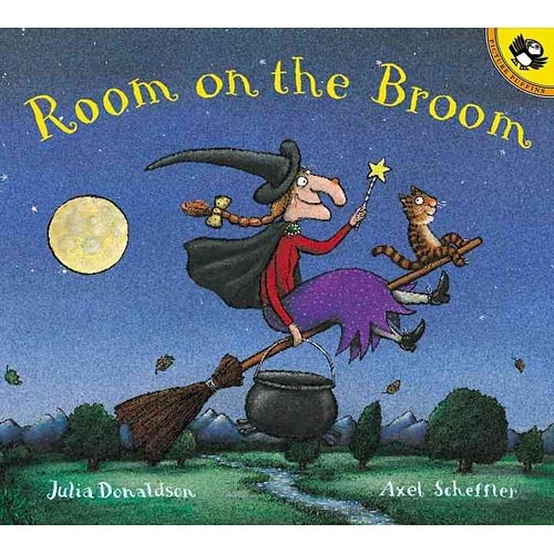 Room on the Broom is a great book to teach sequencing of events. The story has very concrete events that happen in a particular order which enables students to sequence the events using time order words such as first, next, then, last. I used this in my practicum class to teach sequence and it was very beneficial.