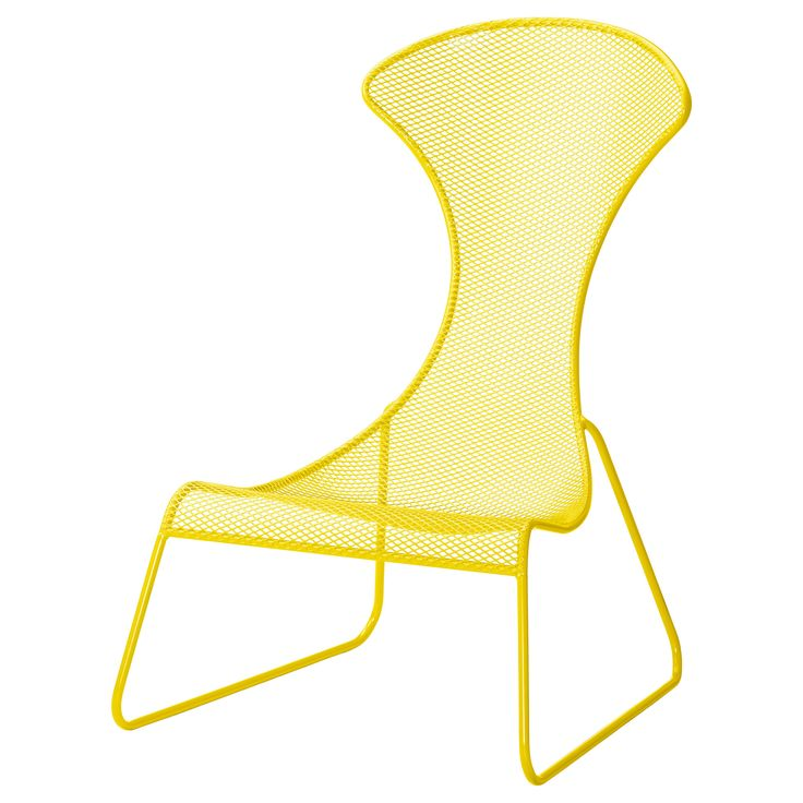IKEA PS 2012 Easy chair - yellow - IKEA - could be fun to mix and match on patio (blue, green, white, yellow)