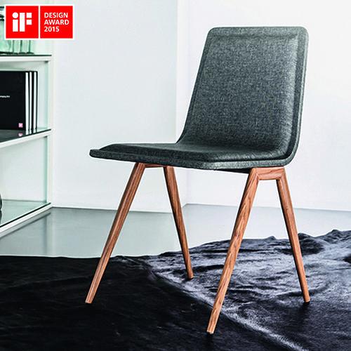 A cadeira Tecno foi premiada na disciplina produto do iF DESIGN AWARD 2015…