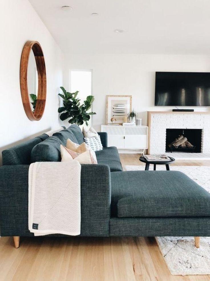 47 Gepflegte und gemütliche Wohnzimmerideen für kleine Apartments