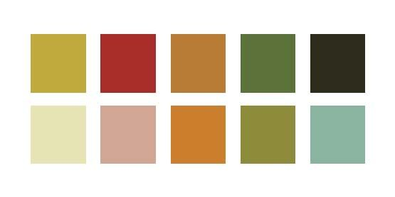 Like this earthy color scheme 60 room in browns and for Tone color definition