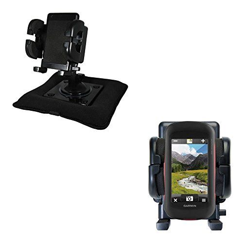 Unique Mounting System Includes Flexible Windshield And Bean Bag Dashboard Mounts To Keep Your Garmin Montana 680 Secure In Any Car Truck