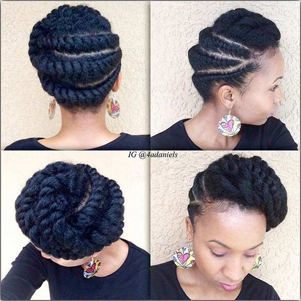 Image result for easy transitioning hairstyles