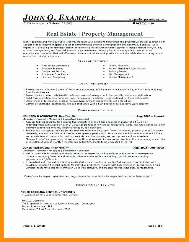 20 Assistant Property Manager Resume In 2020 Resume